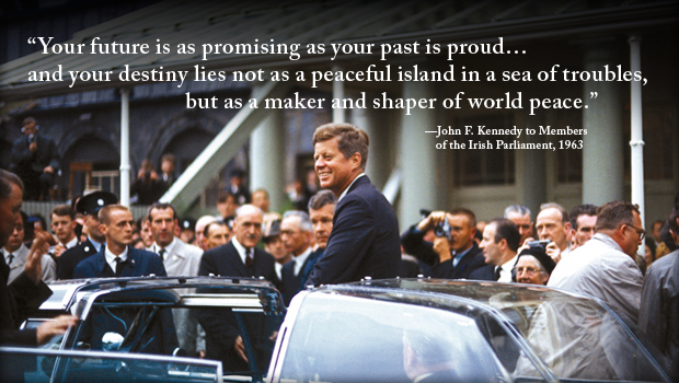 Photo Courtesy of the John F. Kennedy Presidential Library and Museum