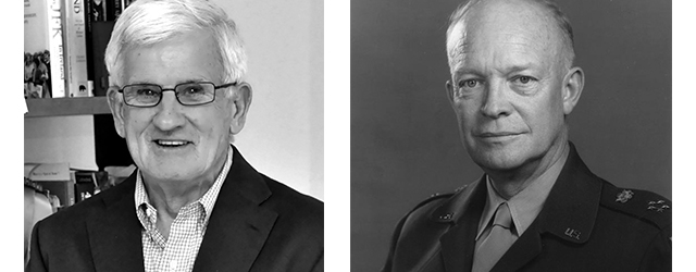 "D-Day - Dwight D. Eisenhower and Francis McDonnell, author of ""Living on the Edge: My Years in the U.S. Secret Service"""