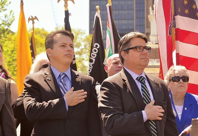 U.S. Rep. Brendan Boyle and City Councilman Bobby Henon