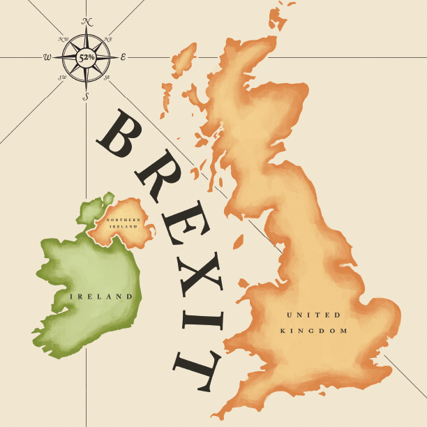 BREXIT - Illustration by Stormistrations