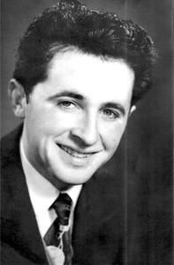 Charles Martin in Nottingham, England, 1957.