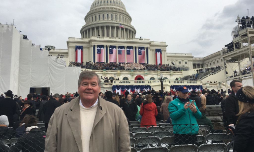 Philadelphia Republican City Committee General Counsel Mike Meehan at the Inauguration in Washington DC