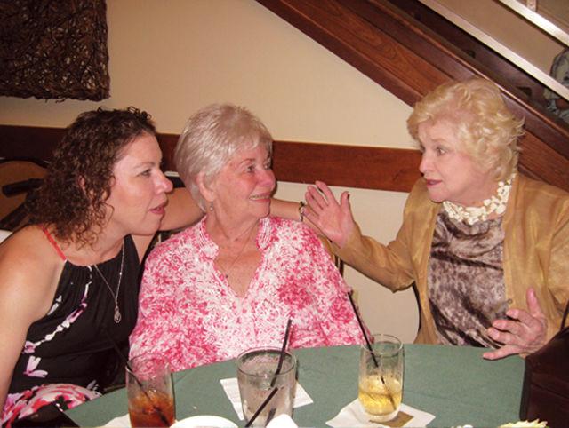 Kathleen Kunz Pflugfelder, Amy Pflugfelder and Anne McNamara Scanlan